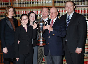 Osgoode team heading for Paris after win