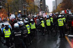 McGill law dean to investigate violent student protest