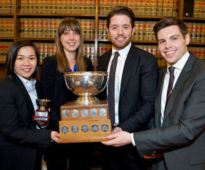 Strong finish for Canada at the Commonwealth Moot