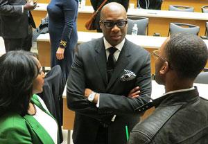 Black law students honour judge, mentor
