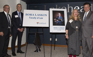 Lakehead's Faculty of Law named in honour of former chief justice Bora Laskin