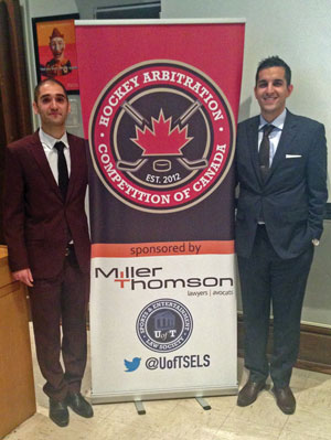 Third annual Hockey Arbitration Competition of Canada a success