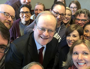 Supreme selfie: Talking A2J with a former Supreme Court of Canada justice