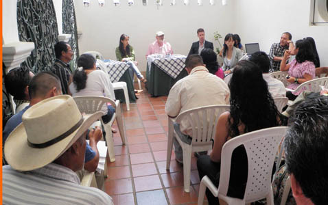 Associates hear first-hand of human rights violations in Colombia