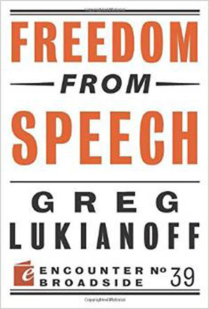 The right to free speech — or not?