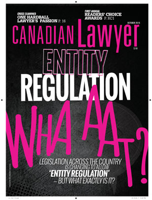 Entity regulation - whaaaaat?