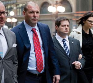 Police defender: Peter Brauti
