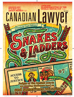 Provincial court snakes & ladders