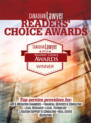 2016 Readers' Choice Awards