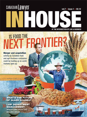 Is food the next frontier?