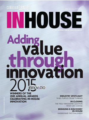 Innovatio Awards 2015 magazine cover