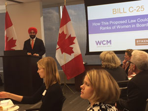 Federal government puts public companies on notice with diversity bill