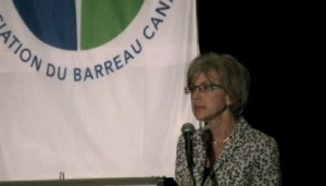 CBA annual conference: Chief Justice Beverley McLachlin
