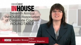 Seventh annual InHouse/ACC general counsel roundtable on risk management: The role of external counsel