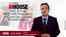 Sixth annual InHouse/ACC general counsel roundtable — Managing spending