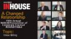Fifth annual InHouse/ACC roundtable - Value billing