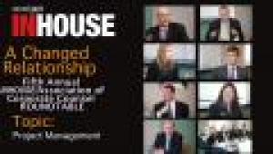 Fifth annual InHouse/ACC roundtable - Project management