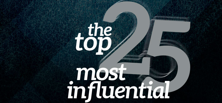 The Top 25 Most Influential 2016