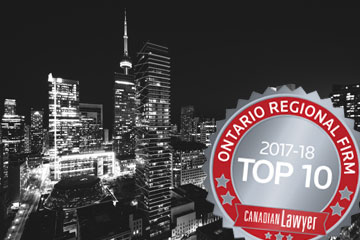 Evolving with the times: Top 10 Ontario regional firms