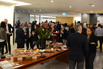 Photo gallery: McGill Faculty of Law hosts alumni cocktail event in Toronto