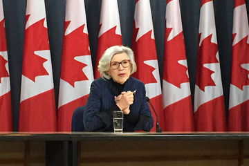 McLachlin reflects on legacy at final press conference