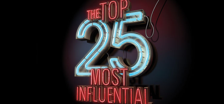 The Top 25 Most Influential 2015
