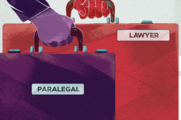 Paralegals in family law