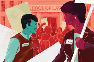 Politicized law schools