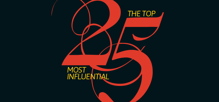 The Top 25 Most Influential of 2018