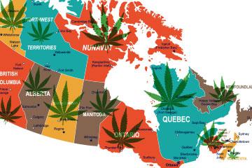 Cannabis across Canada