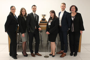 Lakehead law students win Ontario mooting competition