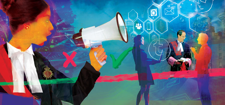 Crossing the judicial line