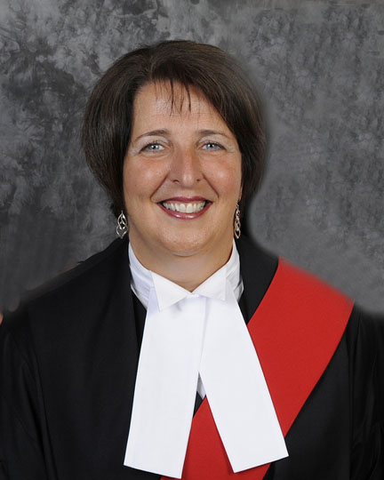 Associate Chief Justice Lise Maisonneuve takes over the top job on May 3