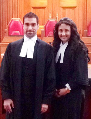 Gabriel Di Genova and co-counsel Carol Kljajo represented the victors at the Supreme Court.