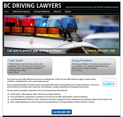 bc driving lawyers