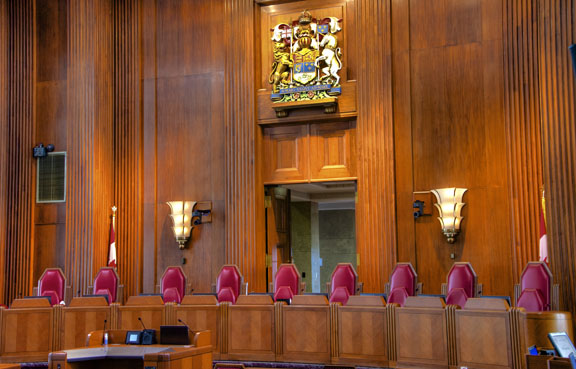 Supreme Court of Canada   courtroom